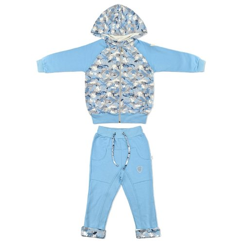 Комплект одежды LEO размер 92, голубойКомплекты<br>