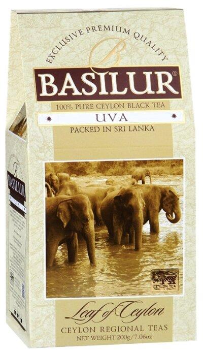 Чай черный Basilur Ува 100 гр картон