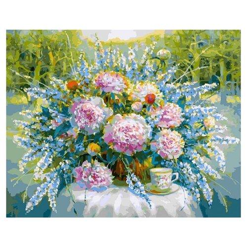 Купить Белоснежка Картина по номерам Солнечный день в парке 40х50 см (217-AB), Картины по номерам и контурам