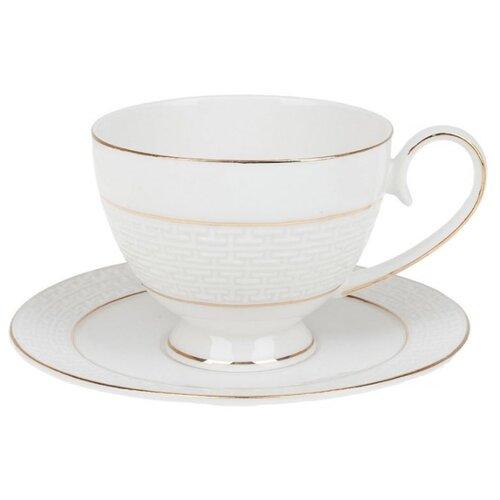 "Best Home Porcelain Чайная пара ""Лабиринт"" 250 мл (подарочная упаковка)"
