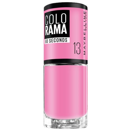Лак Maybelline New York Colorama 60 Seconds, 7 мл, оттенок 13 розовый сюрприз цена 2017