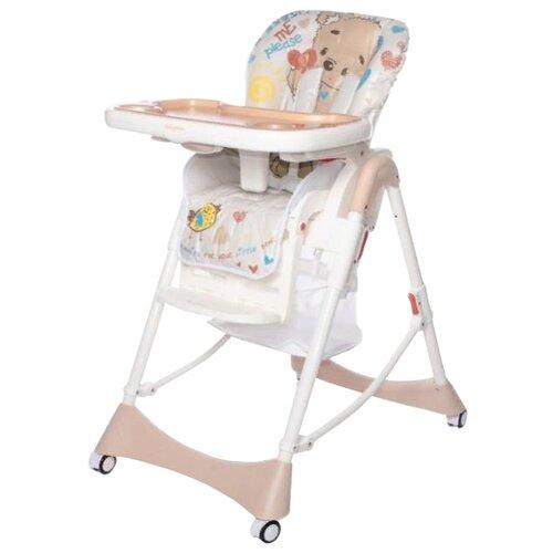 Купить Стульчик для кормления Baby Care Love Bear beige 18, Стульчики для кормления