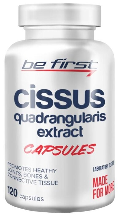 Препарат для укрепления связок и суставов Be First Cissus Quadrangularis Extract (120 шт.)