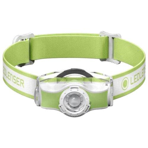 Налобный фонарь LED LENSER MH3 зеленый