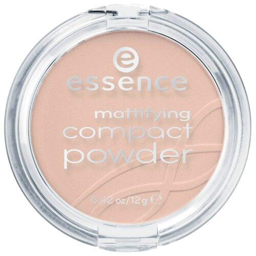 Essence пудра компактная матирующая Mattifying Compact Powder 02 soft beige недорого