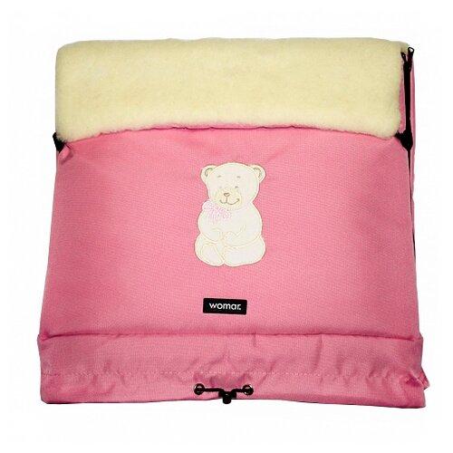 Конверт-мешок Womar Multi Arctic в коляску 83 см 3 розовый конверт мешок womar multi arctic в коляску 83 см 11 графитовый
