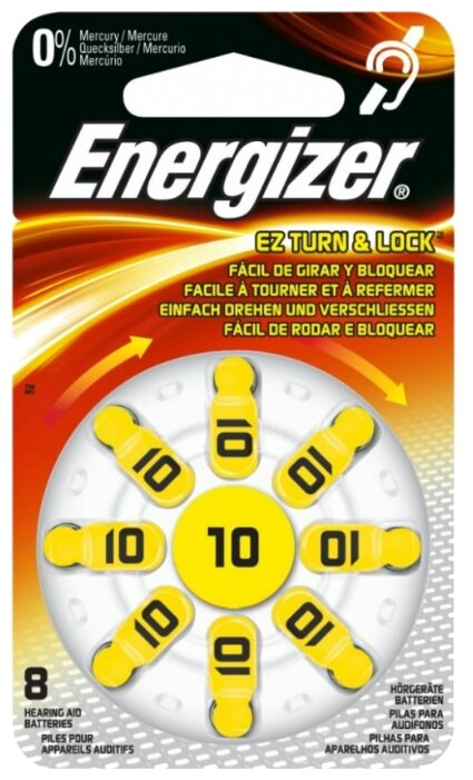 Батарейка Energizer Zinc Air 10