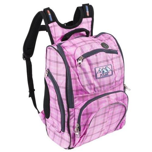 Купить POLAR Рюкзак П3065А розовый, Рюкзаки, ранцы
