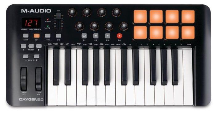 MIDI-клавиатура M-Audio Oxygen 25 MK IV — купить по выгодной цене на Яндекс.Маркете