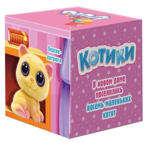 Драже Danli Котики в коробочке с игрушкой, 10 гФрукты и орехи в глазури, драже<br>