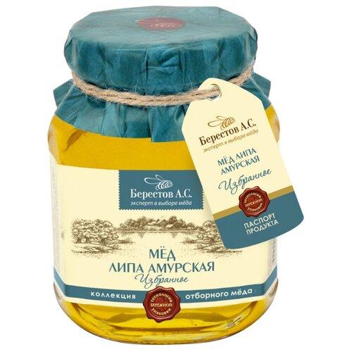 Мед Берестов А.С. Избранное Липа Амурская 500 гМед и продукты пчеловодства<br>