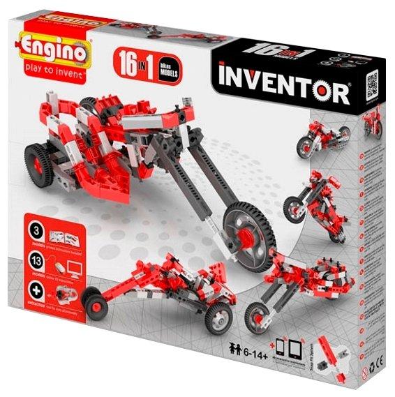 Конструктор ENGINO Inventor (Pico Builds) 1632 Мотоциклы
