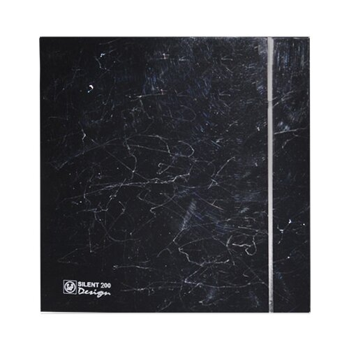 Вытяжной вентилятор Soler & Palau SILENT-200 CZ DESIGN 4C, marble black 16 Вт цена 2017