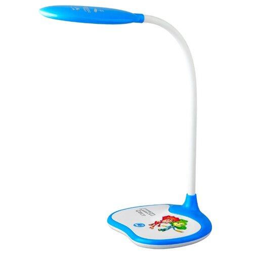 Настольная лампа светодиодная ЭРА NLED-433-6W-BU, 6 Вт настольная лампа светодиодная эра nled 431 5w bu 5 вт