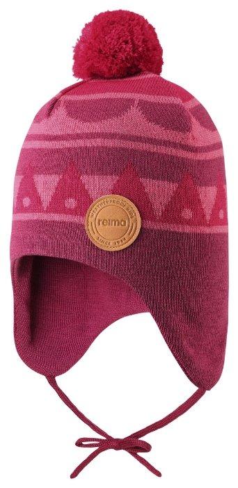 Шапка REIMA 518465-5181-046 для девочки, цвет розовый, размер 46