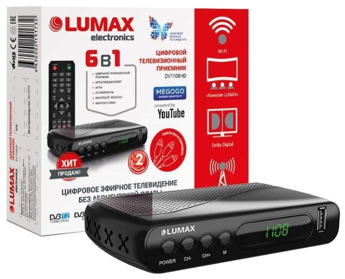 LUMAX TV-тюнер LUMAX DV-1108HD