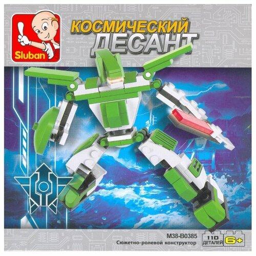 Конструктор SLUBAN Космический десант M38-B0385