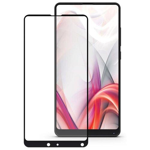 Защитное стекло Mobius 3D Full Cover Premium Tempered Glass для Xiaomi Mi Mix 2/Mi Mix 2S черныйЗащитные пленки и стекла<br>