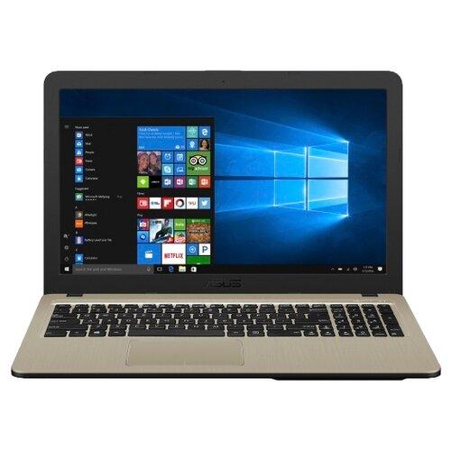 Ноутбук ASUS X540MA (Intel Celeron N4000 1100 MHz/15.6/1366x768/4GB/500GB HDD/DVD нет/Intel UHD Graphics 600/Wi-Fi/Bluetooth/Windows 10 Home) черныйНоутбуки<br>