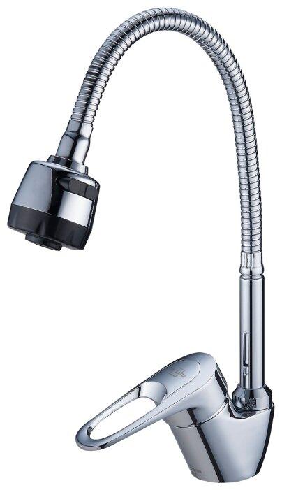Смеситель для кухни (мойки) G-lauf Solone LOP4-B043 однорычажный хром