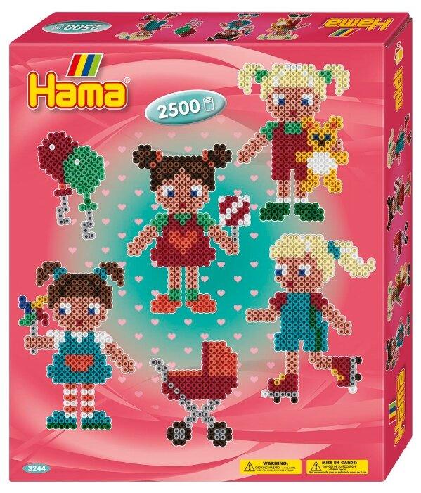 Hama Набор термомозаики Куколки midi (3244)