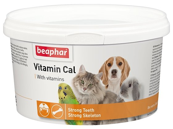 Добавка в корм Beaphar Vitamin Cal 250 г