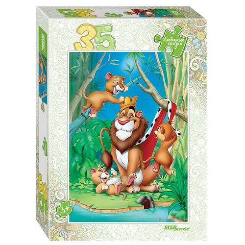 Пазл Step puzzle Любимые сказки Король Лев (91173), 35 дет. фото