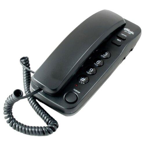Телефон Ritmix RT-100 black телефон