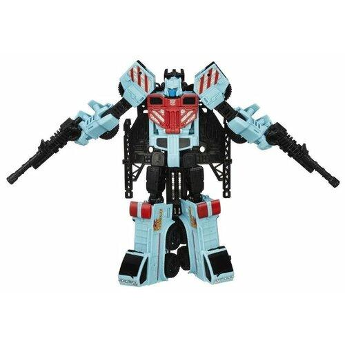 Трансформер Hasbro Transformers Хот Спот. Войны Комбёров Вояджер (Трансформеры Дженерейшнс) B2397 голубой/черный/красный цена 2017
