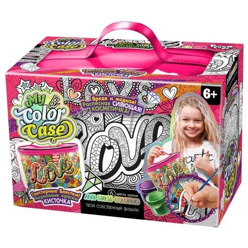 Danko Toys Косметичка-раскраска My Color Case Love (COC-01-04) косметичка hibiscus love