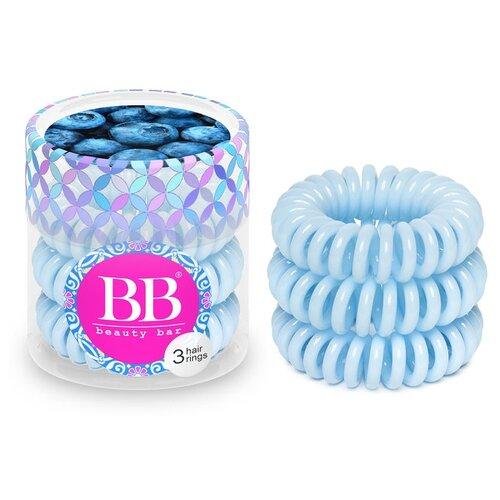 цена на Резинка Beauty Bar браслет 3 шт. светло-голубой