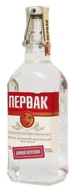 Водка Первак Домашний Пшеничный, 0.5 л