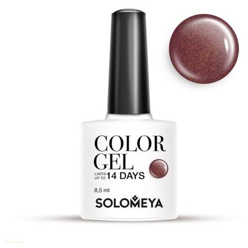 Гель-лак Solomeya Color Gel, 8.5 мл, оттенок Taurus/Телец 04 solomeya гель лак color gel тон irish scg054 айриш 8 5 мл