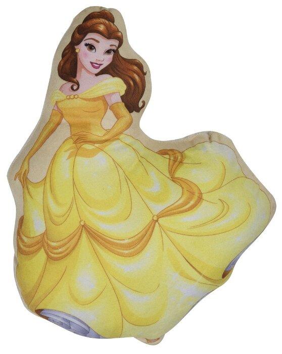 Подушка декоративная Ilanit Принцесса Дисней Белль (16247) желтый