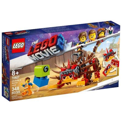 Купить Конструктор LEGO The LEGO Movie 70827 Ультра-Киса и воин Люси, Конструкторы