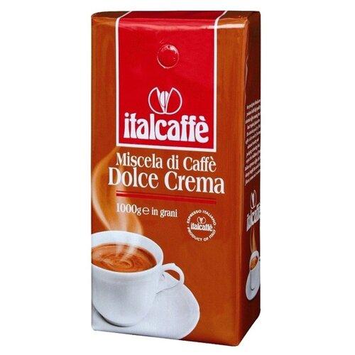 Кофе в зернах Italcaffe Dolce Crema Espresso, арабика/робуста, 1000 г