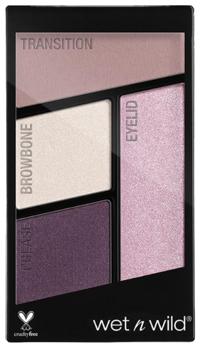 Купить Wet n Wild Палетка теней для век Color Icon Eyeshadow Quad petalette по низкой цене с доставкой из Яндекс.Маркета