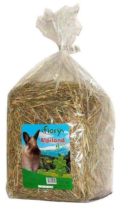 Сено Fiory Альпийское Alpiland Green с люцерной 0.5 кг
