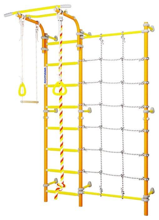 Шведская стенка ROMANA Karusel S3 ДСКМ-3С-8.06.Г1.490.18-28 (белый прованс)