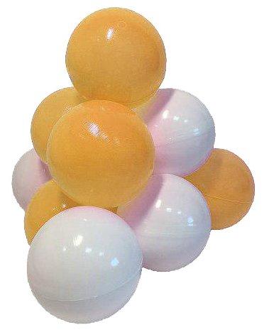 Шарики для сухих бассейнов Hotenok Мыльные пузыри 50 штук, 7 см (sbh132)