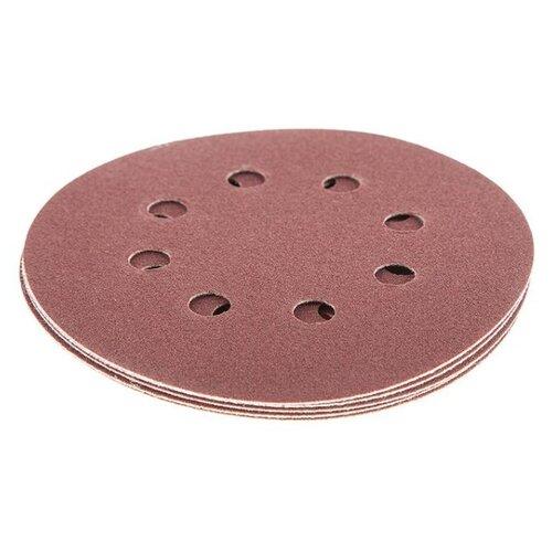 Шлифовальный круг на липучке Hammer 214-005 125 мм 5 шт шлифовальный круг на липучке hammer 214 011 125 мм 5 шт