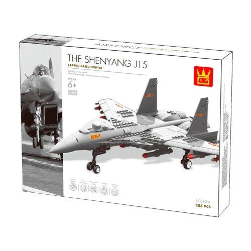 Конструктор Wange Airforce 4001 Истребитель J15