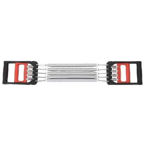 Эспандер кистевой, плечевой Joerex 7735 черный/красный/серебристый эспандер joerex 4 пружины нагрузка 30 кг