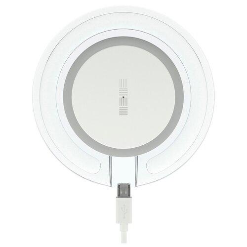 Купить Беспроводная сетевая зарядка INTERSTEP IS-TC-QICHRGLWB-000B201 белый