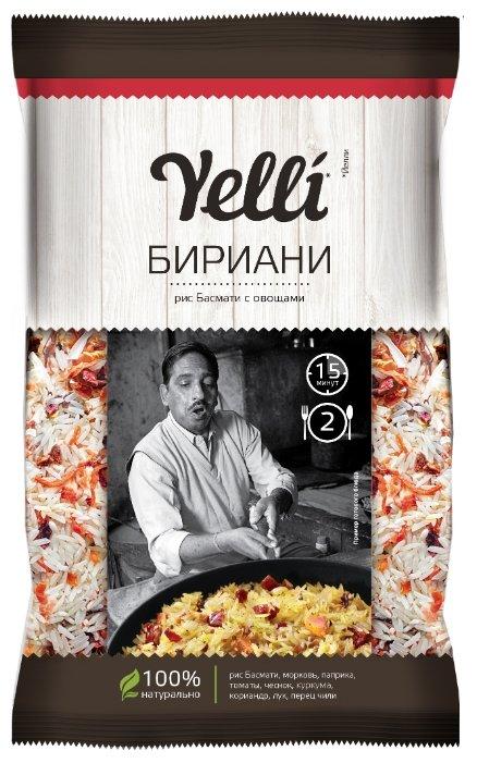 Yelli Бириани Рис басмати с овощами 120 г