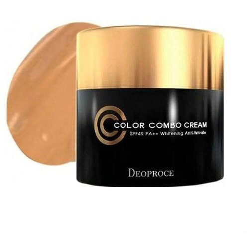Deoproce Color Combo CC крем SPF49 40 гр, оттенок: 23BB, CC и DD кремы<br>