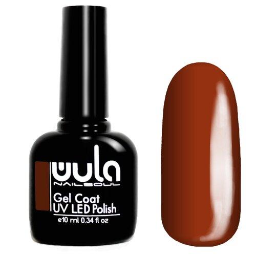 Гель-лак для ногтей WULA Gel Coat, 10 мл, оттенок 375 медно-коричневый гель лак для ногтей wula gel coat 10 мл оттенок 367 серо зеленый