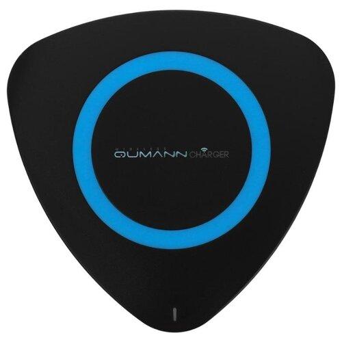 Купить Сетевая зарядка Qumann QWC-01 черно-синий