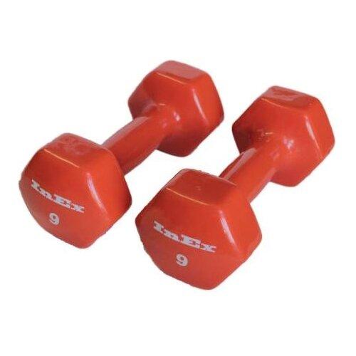 Набор гантелей цельнолитых InEx IN-VD9 2x4 кг