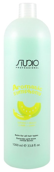 Kapous Professional бальзам Studio Professional Aromatic Symphony Банан и Дыня